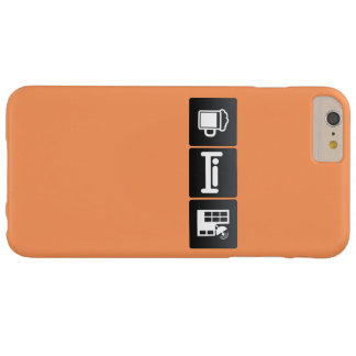Drink, Sleep and Antennas Barely There iPhone 6 Plus Case