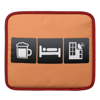 Drink, Sleep and Antennas Sleeves For iPads