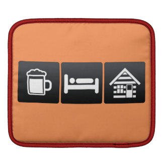 Drink, Sleep and Cabins Sleeves For iPads