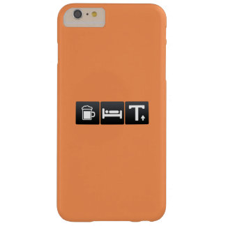 Drink, Sleep and Capital Letters Barely There iPhone 6 Plus Case