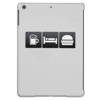Drink, Sleep and Cheeseburgers Cover For iPad Air