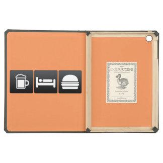 Drink, Sleep and Cheeseburgers iPad Air Case