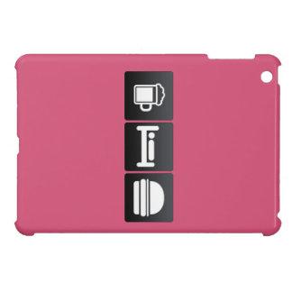 Drink, Sleep and Cheeseburgers iPad Mini Covers