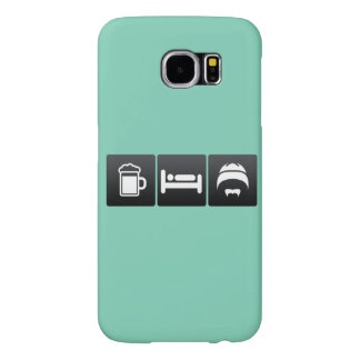 Drink, Sleep and Chinese Culture Samsung Galaxy S6 Cases
