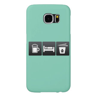 Drink, Sleep and chinese-food Samsung Galaxy S6 Cases