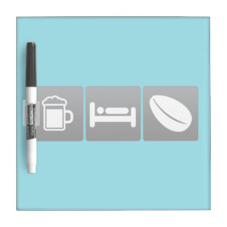 Drink, Sleep and Coffee Plants Dry Erase Boards