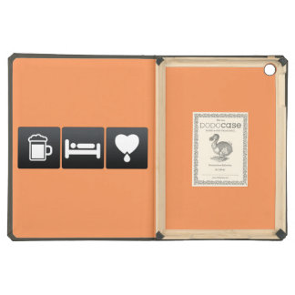Drink, Sleep and Donating Blood iPad Air Cover