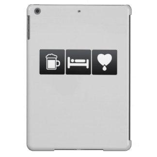Drink, Sleep and Donating Blood iPad Air Case