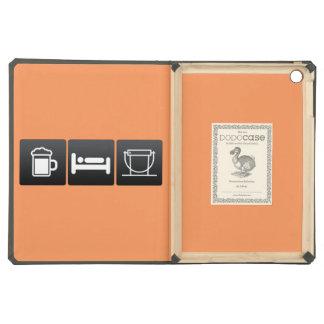 Drink, Sleep and Donation Buckets Case For iPad Air