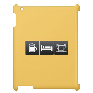 Drink, Sleep and Donation Buckets Case For The iPad