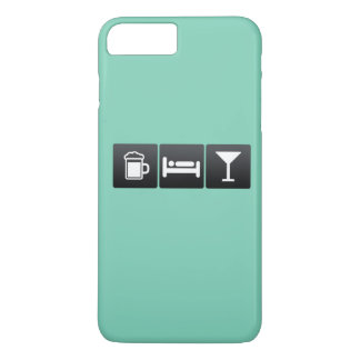 Drink, Sleep and Drinking Cocktails iPhone 7 Plus Case