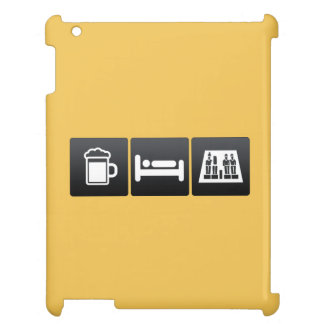 Drink, Sleep and Egyptian Figurines Case For The iPad 2 3 4