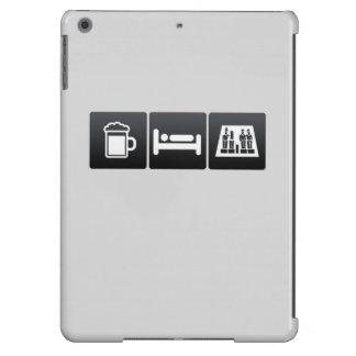 Drink, Sleep and Egyptian Figurines iPad Air Cover