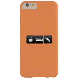 Drink, Sleep and Root Vegetables Barely There iPhone 6 Plus Case