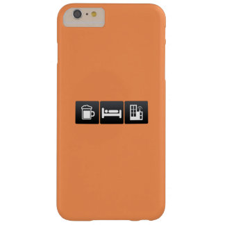 Drink, Sleep and TV Stations Barely There iPhone 6 Plus Case