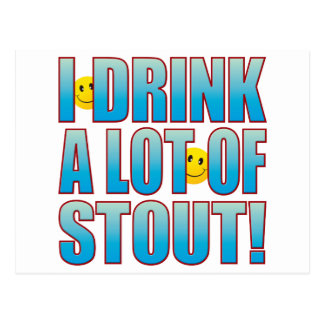 Drink Stout Life B Postcard