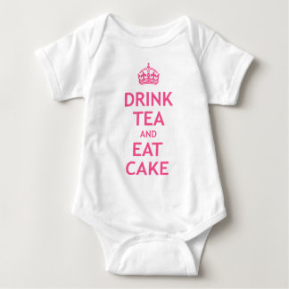 Drink Tea and Eat Cake Baby Bodysuit