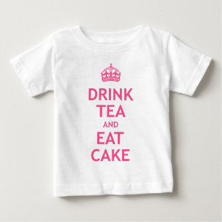 Drink Tea and Eat Cake Baby T-Shirt