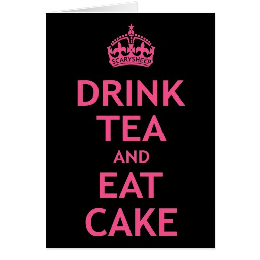 Drink Tea and Eat Cake Cards