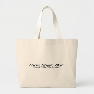 Drink The Kool-Aid Large Tote Bag