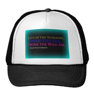 Drink the Wild Air Trucker Hat