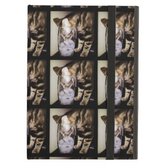 Drink Thief Cat by Shirley Taylor iPad Air Cover