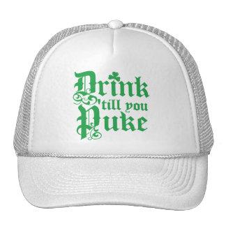 Drink Til You Puke Trucker Hats