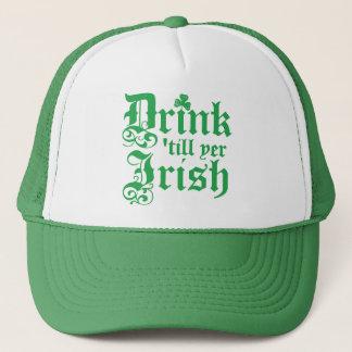 Drink 'till yer Irish Trucker Hat