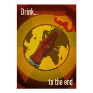 Drink to the end (Cola) Poster