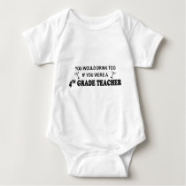 Drink Too - 4th Grade Baby Bodysuit
