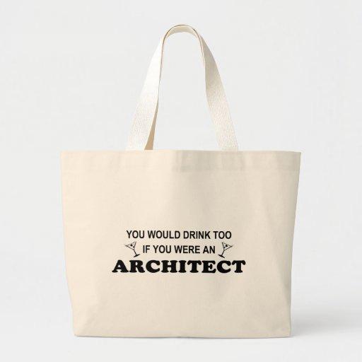 Drink Too - Artchitect Jumbo Tote Bag
