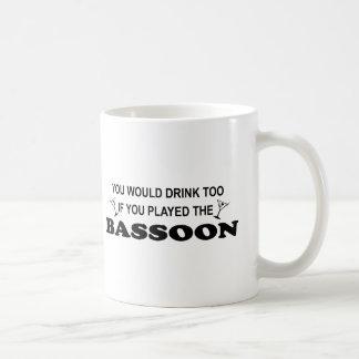 Drink Too - Bassoon Coffee Mug