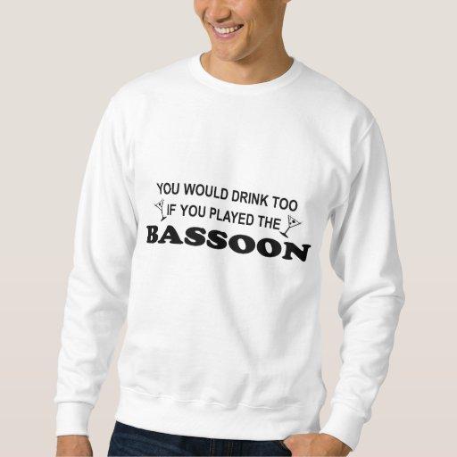 Drink Too - Bassoon Sweatshirt