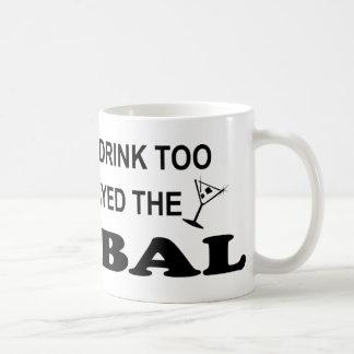 Drink Too - Cymbal Mug
