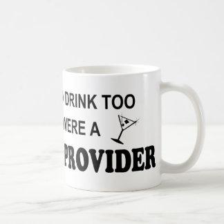 Drink Too - Daycare Provider Classic White Coffee Mug