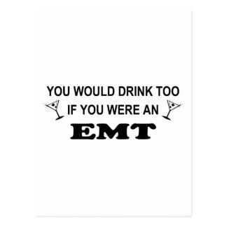 Drink Too - EMT Post Cards