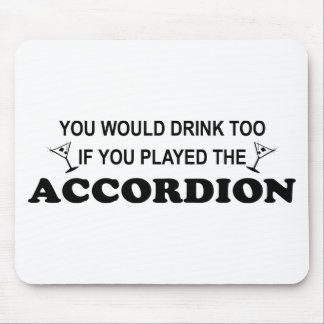 Drink Too Mouse Pad