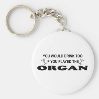 Drink Too - Organ Keychain
