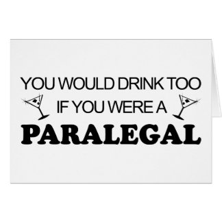 Drink Too - Paralegal Card