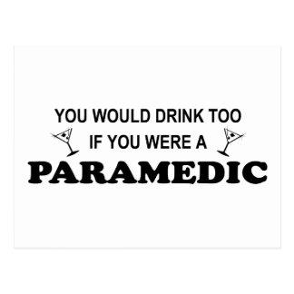 Drink Too - Paramedic Postcards
