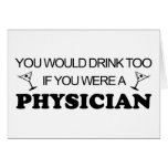 Drink Too - Physician Cards