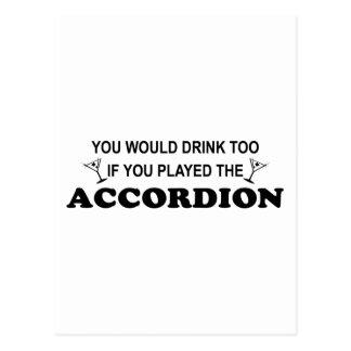 Drink Too Postcard