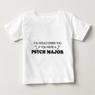 Drink Too - Psych Major Tee Shirt