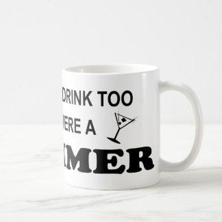 Drink Too - Swimmer Coffee Mug