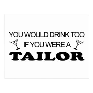Drink Too - Tailor Postcard