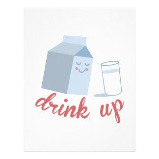 Drink Up Letterhead