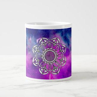 Drink Up Mandala Giant Coffee Mug