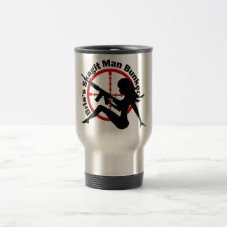 Drink up Manly Bunkerers Travel Mug