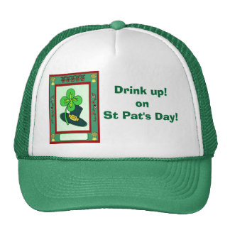 Drink up! on St Pat's Day!1 Mesh Hats