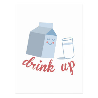 Drink Up Postcard